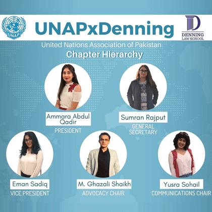UNAP Chapter at Denning